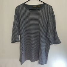 Timberland Men's T-Shirt Size XXL Gray Short Sleeve Embroidered Logo