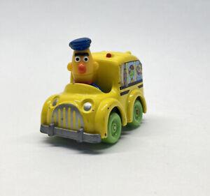 Sesame Street Bert Playskool Bus Diecast Metal Toy Figure Vintage 90's Muppets