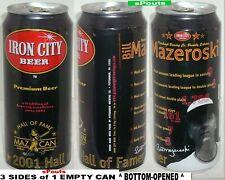Bill Mazeroski Pittsburgh Pirates Baseball Iron City Beer Maz-Can Mlb Hall Fame