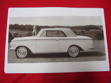 1963 RAMBLER AMERICAN  CONVERTIBLE TOP UP 11 X 17  PHOTO  PICTURE