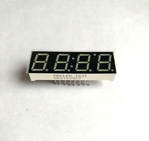 10pcs 0.39 inch 4 digit segment led displays clock CC/CA type W/B/Y/G/R/K colors