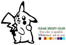 "Pokemon Pikachu Standing Graphic Die Cut decal sticker Car Truck Boat 10"""