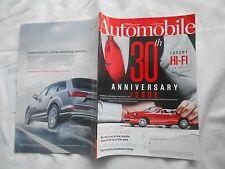 AUTOMOBILE-APRIL,2016-30TH ANNIVERSARY ISSUE--