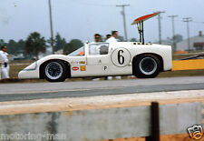 CHAPARRAL 2F MIKE SPENCE JIM HALL 12 HOURS 1967 PHOTOGRAPH FOTO