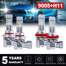 H11 9005 Combo LED Headlights Hi/Lo Bulb for 2012-2018 Dodge Ram 1500 2500 3500