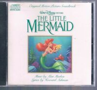The Little Mermaid: Original Walt Disney Records Soundtrack OST CD 1989 Menken