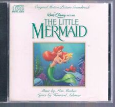The Little Mermaid: Original Walt Disney Records Soundtrack OST CD 1989 Menken