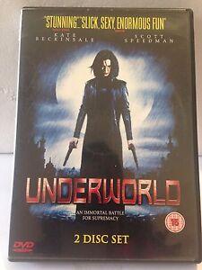 UNDERWORLD - KATE BECKINSALE (2 DISC SET) (R2 - LIKE NEW) - DVD #220