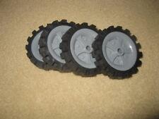 "4 K'Nex Knex Wheels 2.5"" (3)"