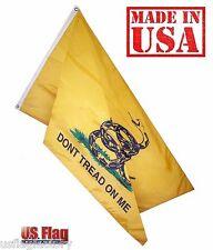 US Flag Factory 4'x6' Gadsden Don't Tread On Me Flag Outdoor Nylon (946Gadsden)