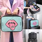 Cartoon Makeup Travel Organizer Cosmetic Toiletry Zip Storage Bag Case Pouch