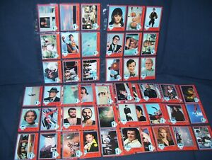 Superman the Movie Topps Series One 1978 Trading Card Lot 75 Cards