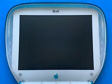 Vintage Apple iBook G3 M2453 Clamshell PowerPC Blue Mac OS 8.6