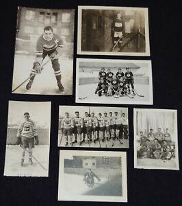 1920-1940 - QUEBEC HOCKEY PHOTOS (7) - ORIGINAL
