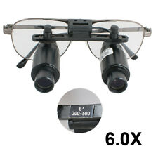 6.0X Medical Loupes Surgical Binocular Loupes Dental Magnifying Glasses 6X 500mm
