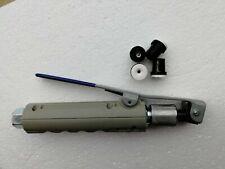 Sandblaster Nozzle Gun Abrasive Blasting Dead-Man Style with 4 Ceramic Tips
