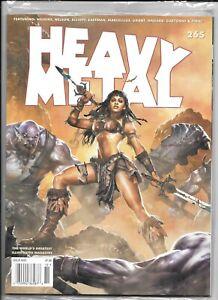Heavy Metal 2013 Magazine #265 Wilkins Grant Eastman Factory Sealed 1977 Series