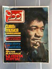 JIMI HENDRIX  cover 1970 CIAO 2001 # 49 magazine ITALY RARO