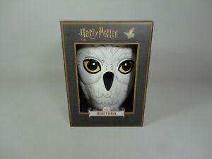 Harry Potter Hedwig Money Box Owl Hogwarts Primark Piggy Coin Bank Ceramic NEW