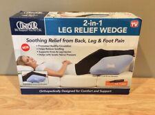 Contour 2-in-1 Leg Relief Wedge Pillow (NO PUMP)