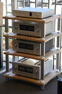 Extrema Evolution AR404 4 Shelf Modular Ultra Durable HiFi Audio Rack (ex-demo)