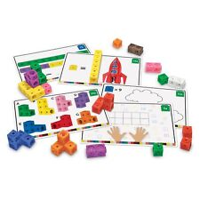 Learning Resources Mathlink Maths Mathematics Cubes Activity Game Set For Kids