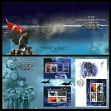 TURKEY/2011 - (PORTFO.) 100TH YEAR OF TURKISH AIR FORCE, (1-10.000 numbered) MNH