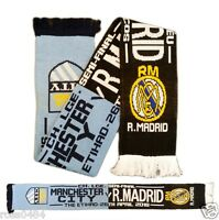 Manchester City R. Madrid League of Champions 26 April 2016 Scarf Real Jacquard