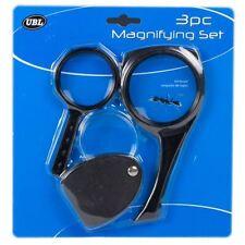 Comprar 3 GET 1 GRATIS NUEVO Magnifying Set 3pc Plegable amplificador lectura