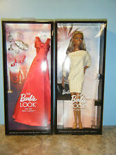 BARBIE CITY SHOPPER AFRICAN AMERICAN DOLL & ON THE RED CARPET FASHION *NEW*