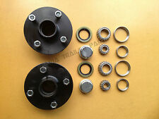 4 STUD ( 4X110MM PCD) HUBS WITH FORD BEARING KITS TRAILER HUBS! Trailer Parts!