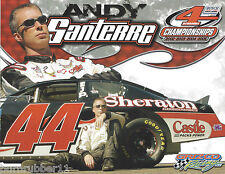 "2006 ANDY SANTERRE ""SHERATON CASTLE"" #84 NASCAR BUSCH NORTH LM SERIES POSTCARD"