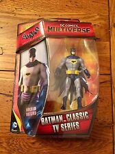 "Mattel DC Comics Multiverse BATMAN CLASSIC TV SERIES 4"" Figure Adam West"