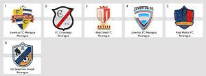 Badge Pin Nicaragua Football Clubs