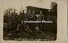 ek2-feier en ruinas, original-photo para 1915