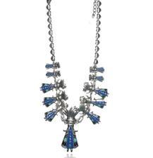 Lol Bijoux - Collier Danse de la Pluie - Indien - Native - Hippie - Bleu