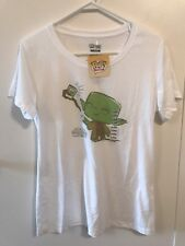 SALE! Star Wars Yoda t-shirt in X-Large (NEW) from Funko HQ Grand Opening