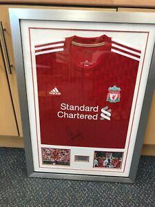 Jamie Carragher Genuine Signed Liverpool Football Shirt Framed