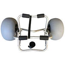 Foldable Collapsible Kayak Beach Trolley Cart Wheels Alloy Strap Budtrol