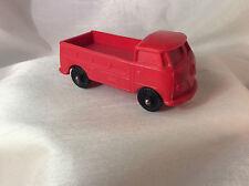 Norddeutsche Plastik NP VW  T1 Pick Up Plastik Vynil Gummi Model Auto (Red)