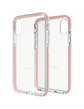 Gear 4 Piccadilly Estuche Cubierta para iPhone XS D30 impacto Protector Rose X Oro