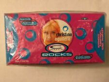 """Christina Aguilera """"C"""" Watch Rocks Animated Fashion Clip Factory Sealed in Box"""