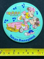 Disney Pin Button - Tokyo Disneyland American Oldies Mickey and Minnie Mouse