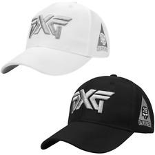 PXG Darkness Hat Adjustable Golf Baseball Cap Black White Outdoor Sport Unisex
