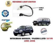 FOR MITSUBISHI SHOGUN PAJERO 2.5 TD 3.0 V6 1990-2006 REVERSE LIGHT SWITCH 2 PIN