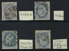 Nk40Iax,40Iia, 40Iibx (Preussian Blue) and 40Iibx (Pale Preussian Blue)