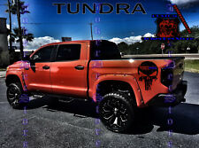 RIGID SKULL -Door Graphics- Vinyl Decal Toyota Tacoma Tundra TRD Pro