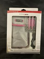 Nintendo 3DS Universal Starter Kit-Sleeve Car Adapter Styluses Protectors Cloth
