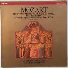 VIENNA BOY'S CHOIR/VPO MOZART Coronation Mass 1983 Philips (HOLLAND) EX/EX