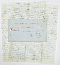 Thailand Japan Express Air Mail Brief mit Inhalt Letter (A1417)